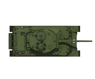 M4A1シャーマン76mm砲搭載型