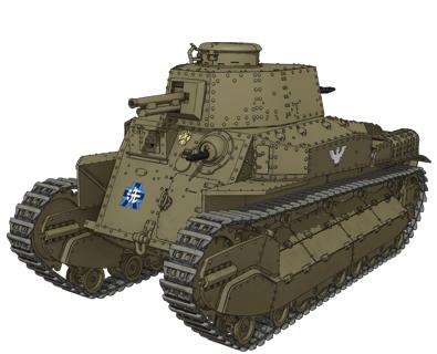 八九式中戦車甲型