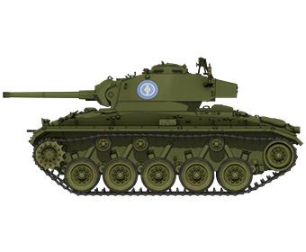 M24チャーフィー軽戦車