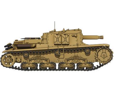 M41型セモヴェンテ(自走砲)