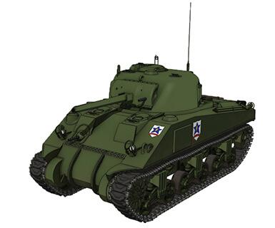 M4シャーマン 75mm砲搭載型