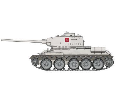 ガールズ パンツァー girls und panzer t 34 85